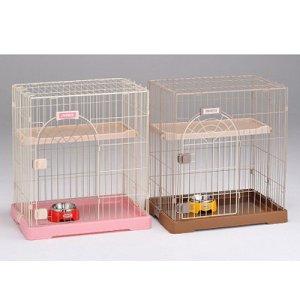 画像1: ゆったり&お部屋にピッタリな猫用サークル「サークルーム コンフォート・ミニHi」