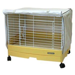 画像2: 【お取り寄せ商品】 寒い時期の保温や風よけに役立つ!「イージーホーム60用 ケージカバー  」