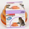 【動画あり】猫パンチでボールがレーンを転がるキャットトーイ!「Petstagesタワーオブ・トラックス」