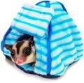 【お取り寄せ商品】キャンプが流行中。ペットたちもキャンプ気分を♪ 「プチテントハウスしましま」