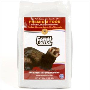 画像1: フェレットに対しての、栄養学的にも優れたプレミアムフード「トータリー 低アレルギー 1.8kg」